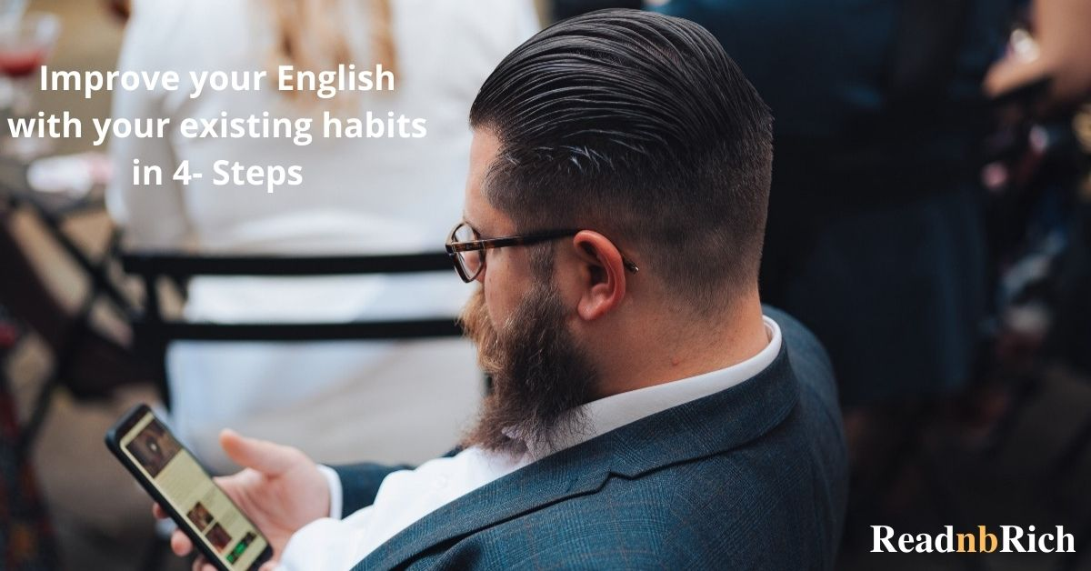 Improve your english even you have 9 to 5 job